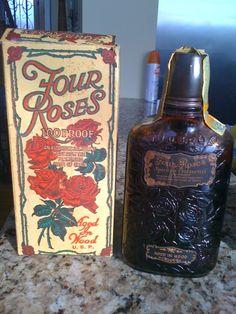Four Roses Bourbon Frankfort, KY Obverse BIB tax stamp: distilled Spring 1917, bottled Spring 1930.