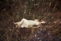 """""""A Story of Ophelia"""" by Anouska Beckwith. Preview more artwork from the World Wide Women collective's upcoming London exhibition: http://www.dazeddigital.com/artsandculture/article/22915/1/the-all-women-art-collective-that-s-going-global"""