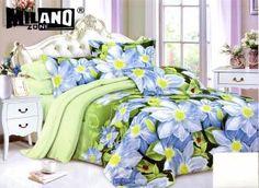 Milano obliečky Bavlnený satén 12, 140x200, 70x80cm Comforters, Bedding, Blanket, Home, Creature Comforts, Blankets, Bed Linen, Ad Home, Homes