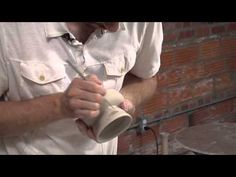 ▶ Pottery Video: Paying Attention to Details to Make a Comfortable, Functional Handle | MIKE JABBUR - YouTube