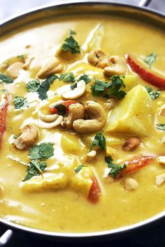 Coconut Chicken Thai Curry | Food Recipes