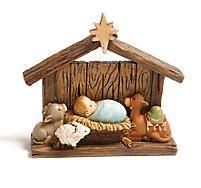 Darling! Mini Nativity with Creche