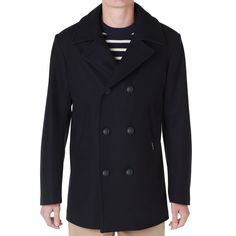 Armour-Lux 3706 Reefer Jacket (Navy)