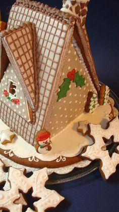 """Gingerbread house """"Merry Christmas"""" 