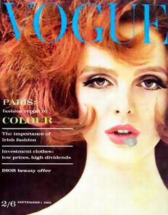 WE GRACE CODDINGTON: Grace Coddington for Vogue UK, September 1962 - Image Amplified: The Flash and Glam of All Things Pop Culture. From the Runway to the Red Carpet, High Fashion to Music, Movie Stars to Supermodels.