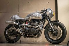 Triumph Thruxton Steampunk Racer ~ Return of the Cafe Racers