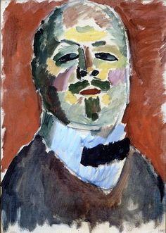 Self-Portrait Alexej von Jawlensky