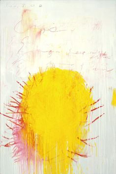 Cy Twombly. Coronation of Sesostris (3).