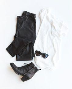 minimal wardrobe essentials / image credit: death by elocution