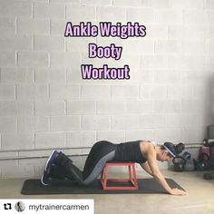 """7,437 Likes, 93 Comments - Carmen Morgan (@mytrainercarmen) on Instagram: """"#throwbacktuesday An Oldie but a goodie, low impact Booty Workout ・・・ 💥Booty Workout💥 Grab your…"""""""