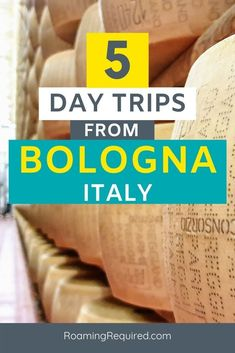 Here are 5 of the best day trips to take from Bologna, Italy. Make Bologna your home base and head out on day trips to discover this exciting region of Italy.  | #RoamingRequired #iRoamToo #Bologna #BolognaWelcome #BLQ #bolognaitaly #italy #italytravel #EmiliaRomagna Outfits Winter, Outfits Spring, Italy Honeymoon, Italy Vacation, Italy Travel Tips, Travel Destinations, Travel Europe, European Travel
