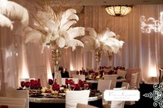 1940s supper clubs decor | Posted by Memorable Moments Event Planning Co. at 10:50 AM