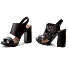 Sandály QUAZI - 14821-01 Černá