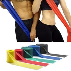 [Visit to Buy] Training Equipment Home Fitness Expander,Elastic Rubber Bodybuilding Crossfit Women Stretch Flat Resistance Band,Pilates Workout Pilates Workout, Gym Workouts, At Home Workouts, Stretch Band, Crossfit Women, Fitness Planner, Transformation Body, Academia, Weight Lifting
