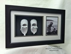 1st Shoe Framing. An excellent way to display those beautiful little memories, By Babyprints.co.uk