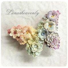以前ツイートした、虹色の蝶々の制作過程( #レース編み実況 )をブログにまとめてみました。 少しだけ補足もしてます。 http://lunaheavenly8.jugem.jp/?eid=92
