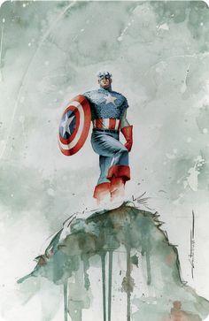 Captain America [fan art]
