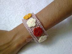 Tecendo Artes em Crochet: Pulseiras