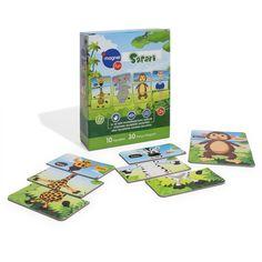 """""""imagnetfun Safari Magnet Oyuncak"""" • Çocukların el ve göz koordinasyonunu sağlar, düşünme becerisini geliştirir. Parçaları bulup eşleştirme ve yerleştirme prensiplerinden dolayı zeka yeteneklerinin gelişimine yardımcı olur. Parçalar karıştırılarak, çocuğunuz hayal gücü ile özgün karakterler oluşturulabilir. • İçeriği: • İçeriği: 10 Karakter, 30 adet magnet parçadan oluşur. • Nasıl Kullanılır: Oyun, evinizde bulunan herhangi metal zemin üzerine magnet parçalar yerleştirilerek oynanır. 2+"""