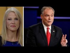 Kellyanne Conway: Kaine was awful, ignored female moderator - YouTube