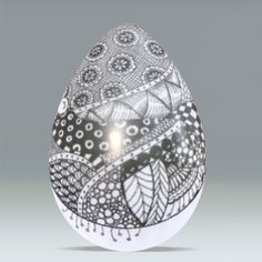 Egg. I have plenty of these I could practice on!