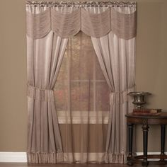 Found it at Wayfair - Avelines Window in a Bag Set
