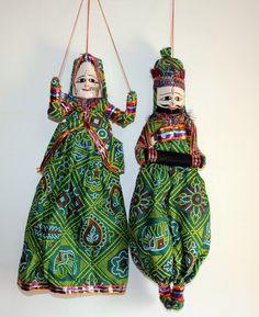 Dancing Indian Dolls