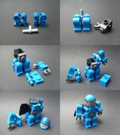 Lego Building Project For Kids 42 Lego Bauprojekt für Kinder 42 Minifigura Lego, Robot Lego, Lego Bots, Lego Craft, Lego Minecraft, Lego Mecha, Lego Design, Lego Star Wars, Instructions Lego