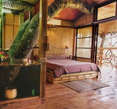 Located in southern India on a private 400-acre estate in the Kerala rainforest, this resort has a main lodge with eight well-appointed rooms.