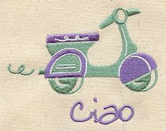 "Embroidery Designs at Urban Threads - Scoot (#UT1502) 3.50""w x 2.75""h 23 July 2010"