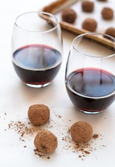 Red wine and chocolate pair perfectly in this easy recipe for indulgent wine truffles. Perfect for Valentine's, romantic occasions and all chocolate lovers!