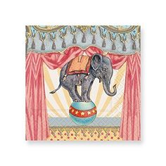 Design Design Carnival Circus Beverage Paper Napkins #DesignDesign