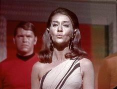 Romulan Kiss ? (unshown shot) | Joanne Linville, shown on th… | Flickr