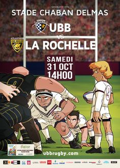 UBB - La Rochelle, samedi 31 octobre, 14h00