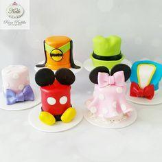 Disney Mini Cakes