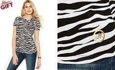 MICHAEL Michael Kors Zebra-Print Tee. Get thrilling discounts up to 70% Off at Macys Australia using Coupon & Promo Codes.