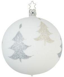 Inge's Christmas Decor Glittered Ball Ornament