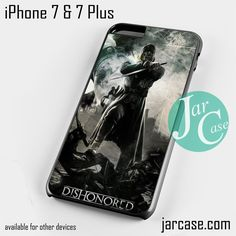 Dishonored 2 game Phone case for iPhone 7 and 7 Plus