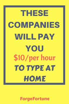 These companies offer the best transcription jobs all over the world. You can earn over $10 per hour just for listening and typing. Check out!