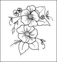 Resultado de imagen para flor de cerezo para colorear