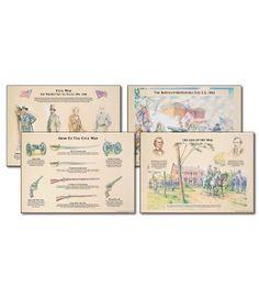 Civil War Bulletin Board Set - Carson Dellosa Publishing Education Supplies - #CDWishList