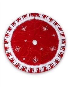 Treetopia - Starlight Christmas Tree Skirt #TreeSkirt #ChristmasDecor  #TreetopiaOrnaments