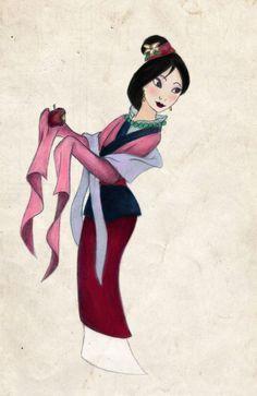 Mulan: my second favorite Disney princess
