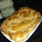 Recipe photo: Chicken and leek pie