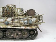 Tiger I - Winter 1/35 Scale Model