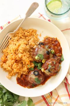 ... turkey and ground corn tortillas then baked in an easy enchilada sauce