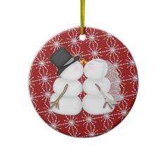 Couple First Christmas Christmas Ornament