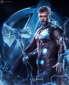 THOR day 10 of my avengers end game series cant wait to see them in end game 🔥 i hope u guys will put love and support on this series . Marvel Avengers, Marvel Comics, Bd Comics, Marvel Fan, Marvel Heroes, Marvel Universe, Marvel Tattoos, Super Anime, Die Rächer