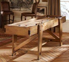 Shuffleboard Table | Pottery Barn  $5,000..... Ummm... Worth it?