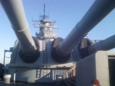 "16"" Guns aboard USS New Jersey - BB62"